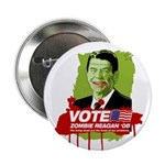 Vote Zombie Reagan in 2008 Button