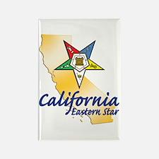 California Eastern Star Rectangle Magnet (10 pack)