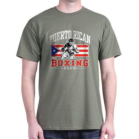 Puerto Rican Boxing Dark T-Shirt