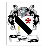 Binnie Family Crest Small Poster