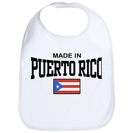 Made in Puerto Rico Bib