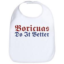 Boricuas Do it Better Bib