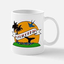 Vintage California Tattoo Mug