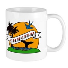 Vintage California Tattoo Mug
