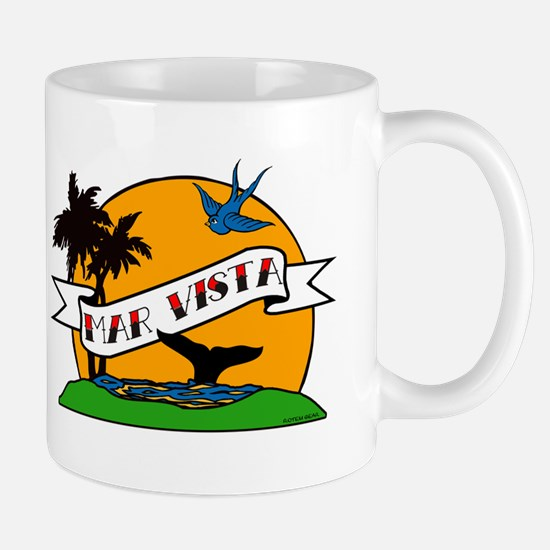 Mar Vista Tattoo Mug