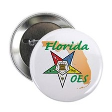 """Florida Eastern Star 2.25"""" Button (10 pack)"""