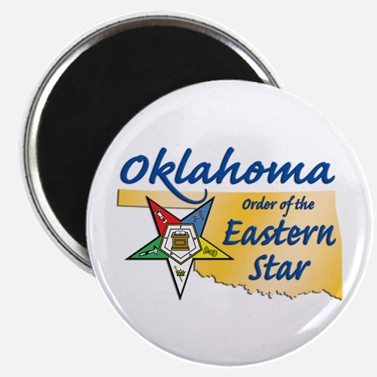 Oklahoma Eastern Star Magnet