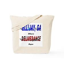 Ellijay Georgia - Where Deliv Tote Bag