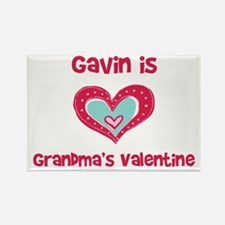 Gavin Is Grandma's Valentine Rectangle Magnet