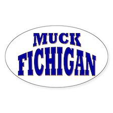 Muck Fichigan Oval Decal