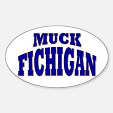Muck Fichigan Oval Decal