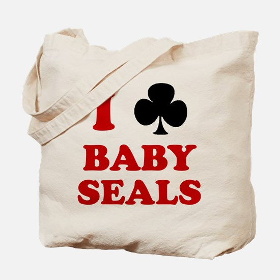 I Club Baby Seals Tote Bag
