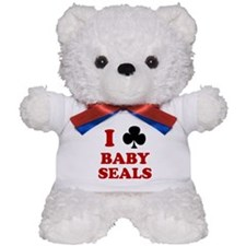 I Club Baby Seals Teddy Bear