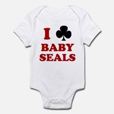 I Club Baby Seals Infant Bodysuit