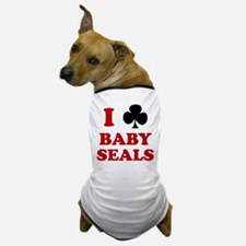 I Club Baby Seals Dog T-Shirt