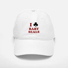 I Club Baby Seals Baseball Baseball Cap