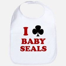 I Club Baby Seals Bib