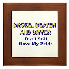 Still Have Pride Framed Tile