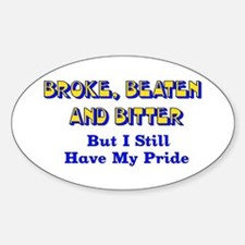 Still Have Pride Oval Decal
