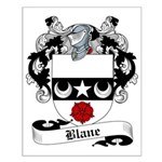 Blane Family Crest Small Poster