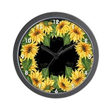 Sunflowers #2 Wall Clock