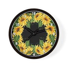 Sunflowers #2 Wall Clock