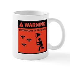 Warning - Entomology in Progr Small Mug