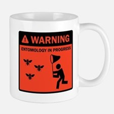 Warning - Entomology in Progr Small Small Mug