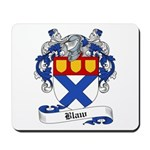 Blaw Family Crest Mousepad