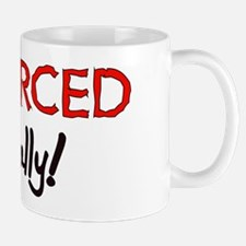 Divorced Finally Small Small Mug