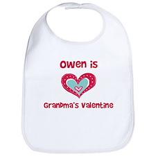 Owen Is Grandma's Valentine Bib