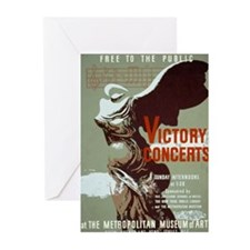 Victory Concerts Greeting Cards (Pk of 10)