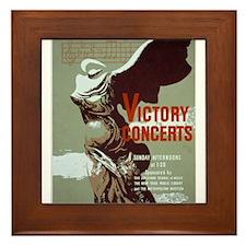 Victory Concerts Framed Tile