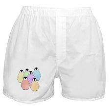 Rainbow Baby Penguins Boxer Shorts