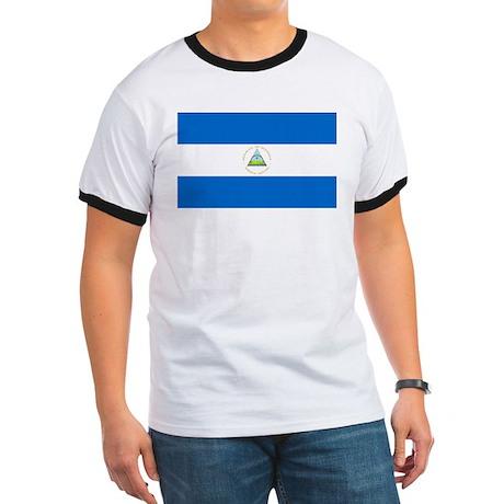 Flag of Nicaragua Ringer T