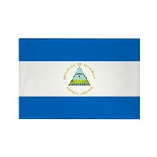 Flag of Nicaragua Rectangle Magnet