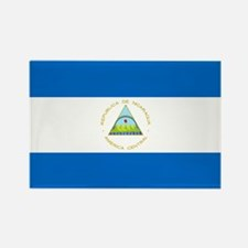 Flag of Nicaragua Rectangle Magnet