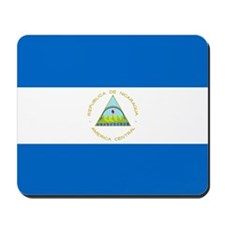Flag of Nicaragua Mousepad