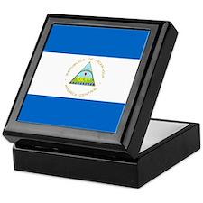 Flag of Nicaragua Keepsake Box