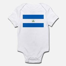 Flag of Nicaragua Infant Bodysuit