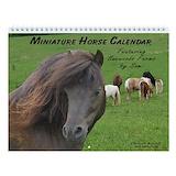 Miniature horse Calendars