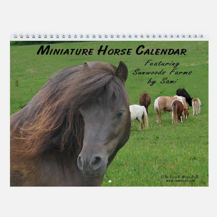 Sami's Miniature Horse Wall Calendar