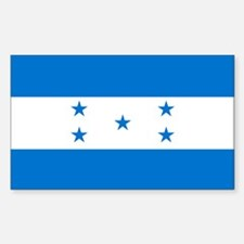 Flag of Honduras Sticker (Rectangle)