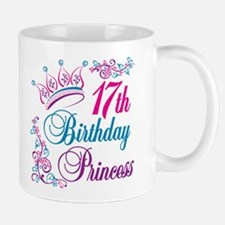 17th Birthday Princess Mug