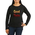 Good Twin Women's Long Sleeve Dark T-Shirt