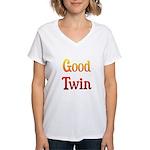 Good Twin Women's V-Neck T-Shirt