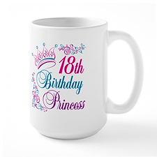 18th Birthday Princess Mug