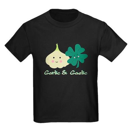 Garlic & Gaelic Kids Dark T-Shirt