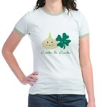 Garlic & Gaelic Jr. Ringer T-Shirt
