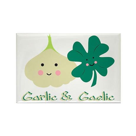 Garlic & Gaelic Magnet